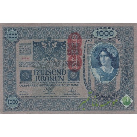 1000 کرون اتریش 1902