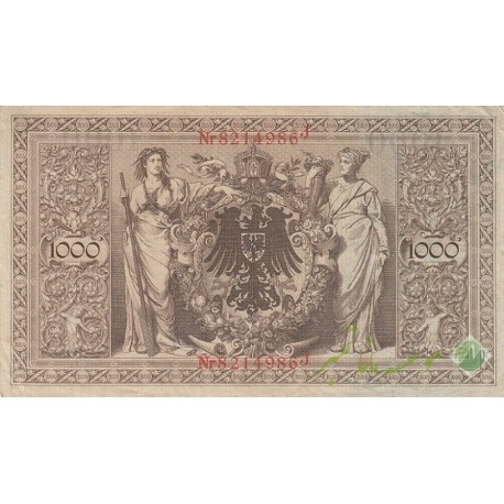 1000 مارک آلمان 1910