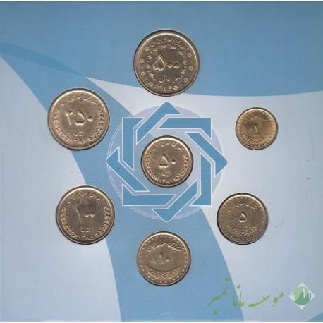 پک سکه های بانک مرکزی