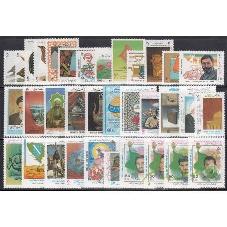 سری کامل تمبرهای 1373