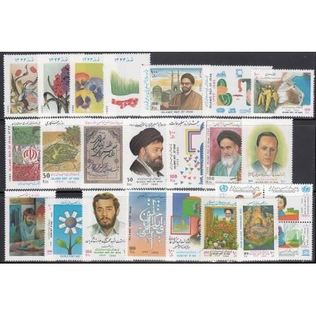 سری کامل تمبرهای 1374