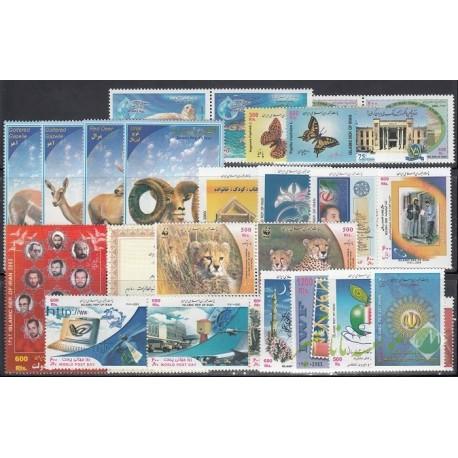 سری کامل تمبرهای 1382