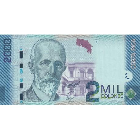 2000 کولن کاستاریکا 2009