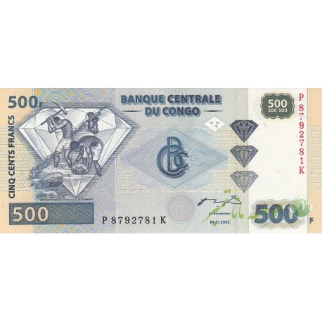 500 فرانک کنگو