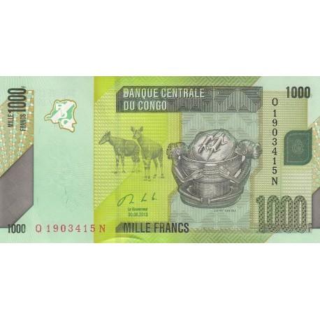1000 فرانس کنگو