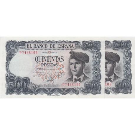 500 پزو اسپانیا 1971 (جفت)