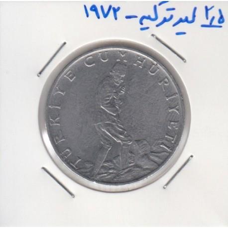 2.5 لیر ترکیه 1972
