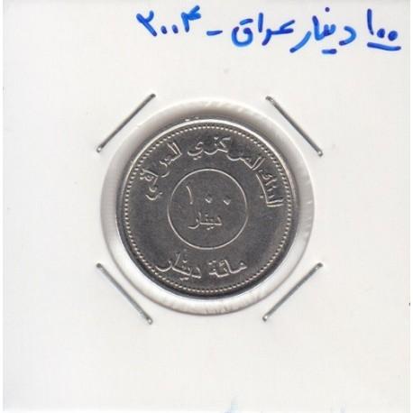 100 دینار عراق 2004