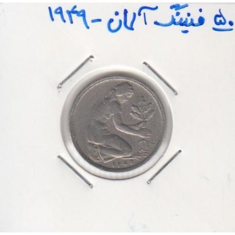 50 فنینگ آلمان 1949