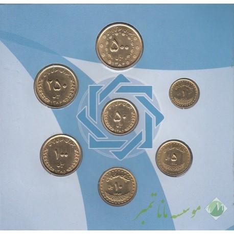 پک سکه 1 ریال دماوند 1376