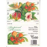 تمبر گل برچسبی آمریکا (به قیمت روی تمبر)