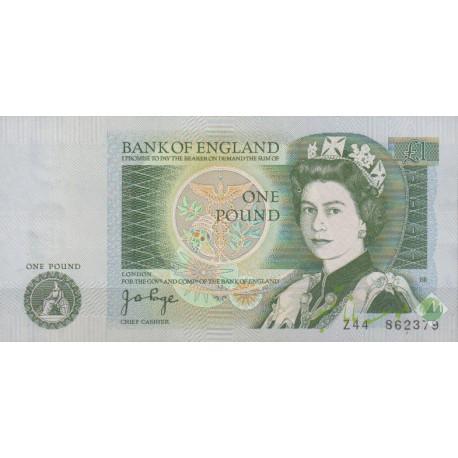 1 پوند انگستان (بانکی)