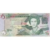 5 دلار کارابئن (کارکرده)