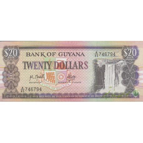 20 دلار گویانا (بانکی)