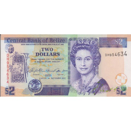 2 دلار بلیز(بانکی)
