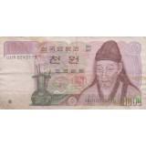 1000 وون کره (کارکرده)