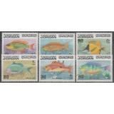 تمبر ماهی های اردن