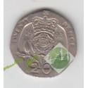 20 پنی انگلستان 1993
